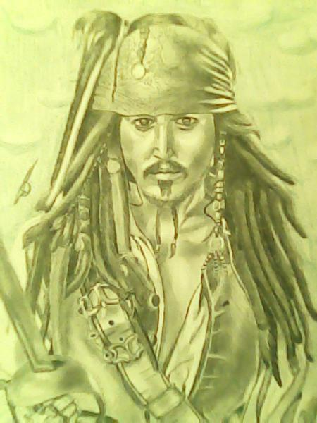 Johnny Depp by tom.J.